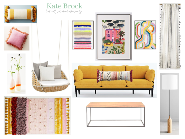 Curated Colors Kate Brock Interiors