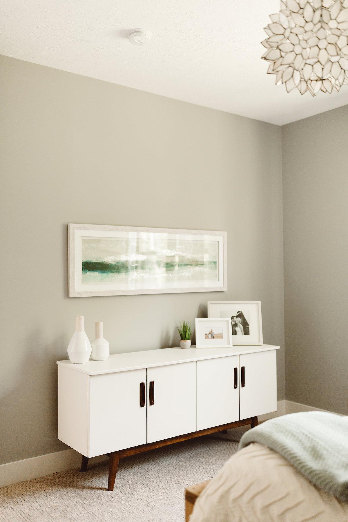 Modern Farmhouse New Build - Master Bedroom - Kate Brock Interior