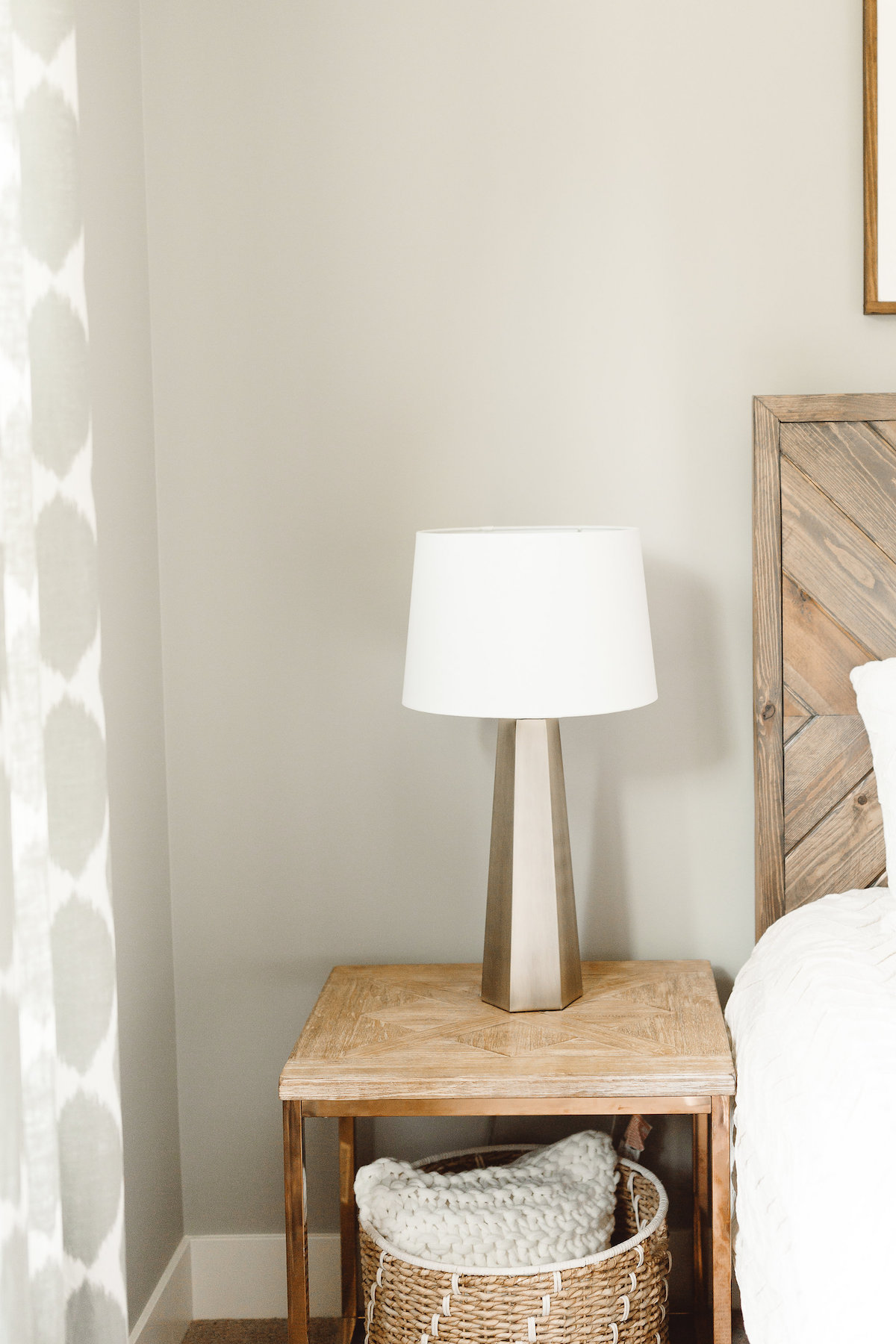 Modern Farmhouse New Build - Master Bedroom - Kate Brock Interiors