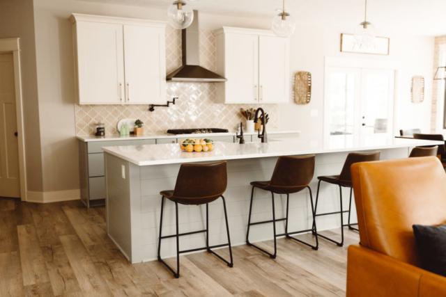 Modern Farmhouse New Build - Kitchen - Kate Brock Interiors