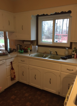 Transitional Kitchen Remodel - Before Project - Kate Brock Interiors